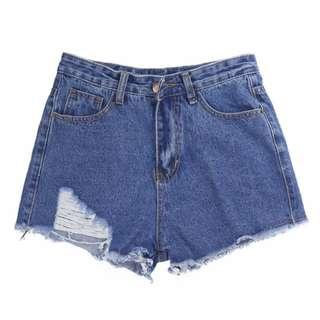 ✨ [PO] Distressed Denim Shorts ✨