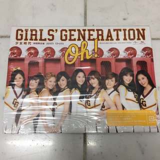 (Japan Imported) SNSD Oh! Japan First Press Album CD+DVD