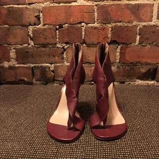 Zimmerman Leather High Heel