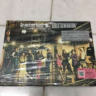 (Japan Imported) SNSD The Boys Repackage Japan First Press CD+DVD