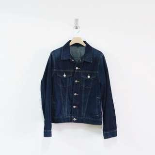 買取 日本 Muji / 無印良品 藍染 牛仔外套