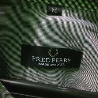 Linen Shirt Slim Fit Fred Perry