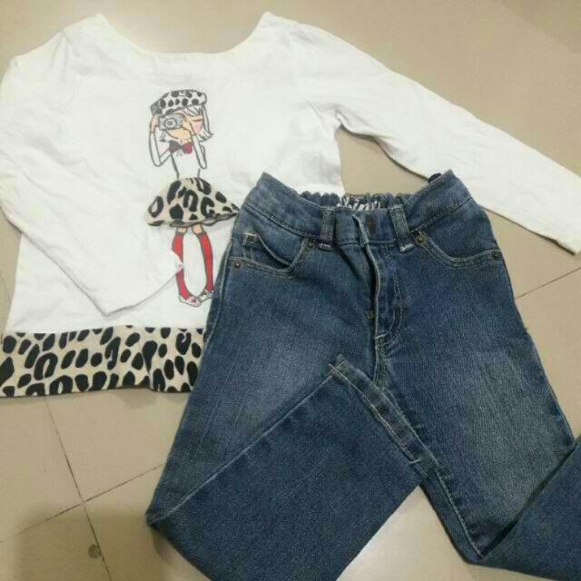 (2T) Preloved OOTD for girls
