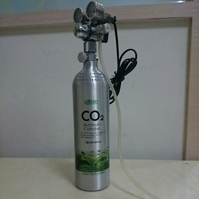 水草必備,二氧化碳高壓鋁瓶