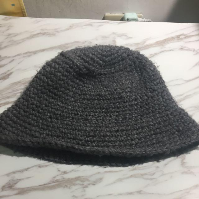 粗針織漁夫帽