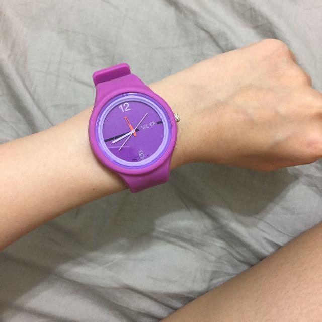 果凍矽膠 手錶