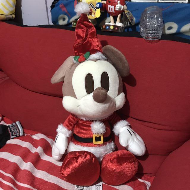 迪士尼 聖誕節限定 米奇娃娃