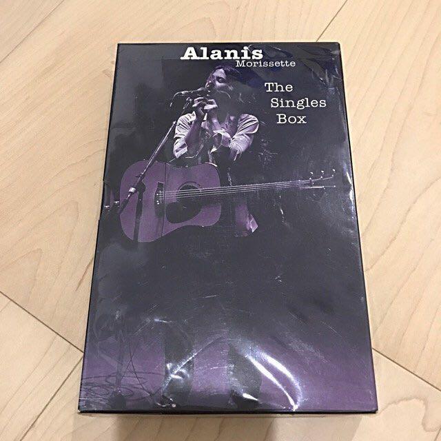 絕版限定精裝盤 Alanis Morissette/ The singles Box 5CD精裝版