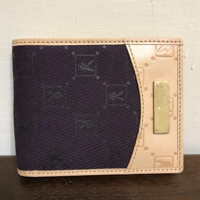 費歐娜の物🌲全新 可換物🌲Playboy 粉色 紫色 logo 壓紋皮夾