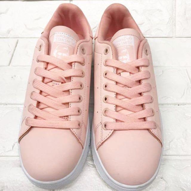 wholesale dealer 3172b 4f81c Adidas Stan Smith Salmon Pink on Carousell