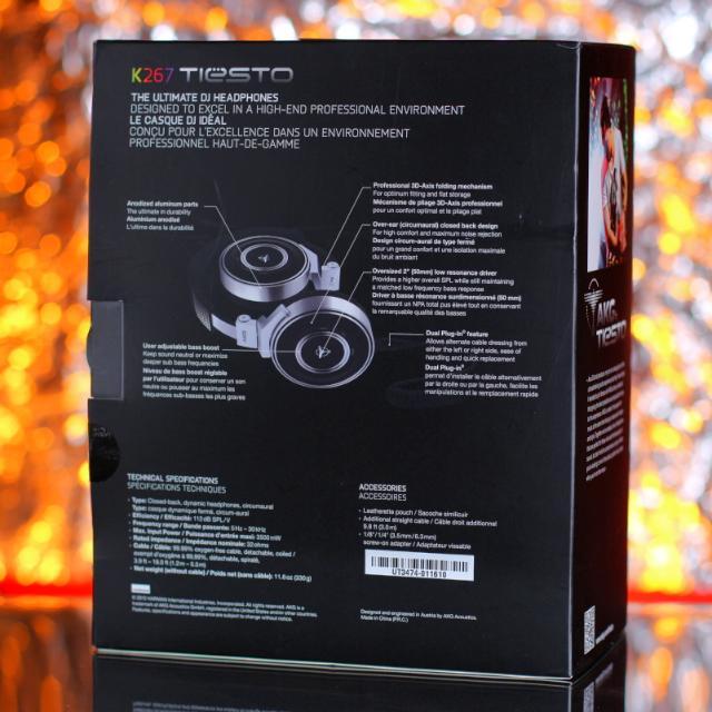AKG K267 Tiësto Headphones