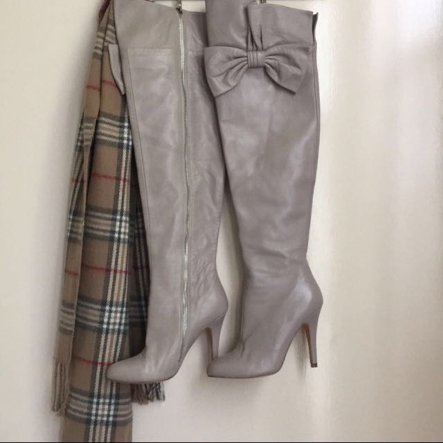 Alannah Hill Knee high Leather Boots