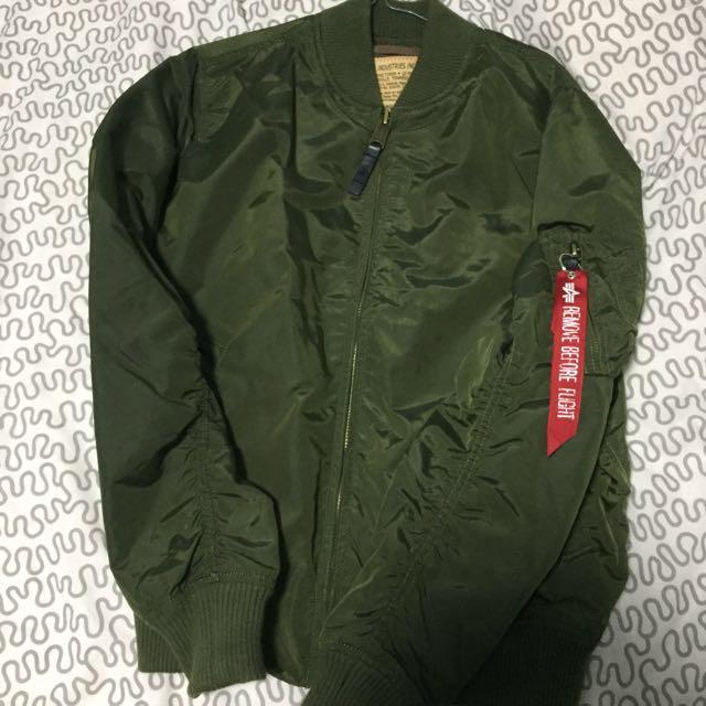 Alpha Industries Medium Slim Fit MA-1 Jacket