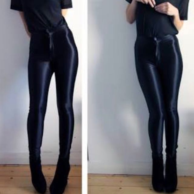 AMERICAN APPAREL DISCO PANTS XS