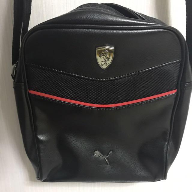 AUTHENTIC FERRARI SLING BAG