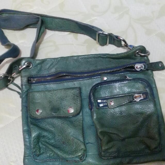 authentic fossil sling bag full leader