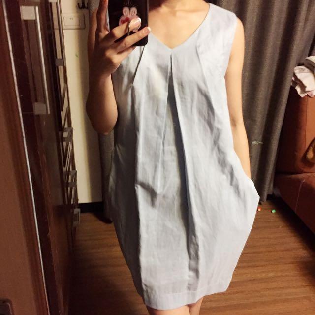 Baby藍洋裝