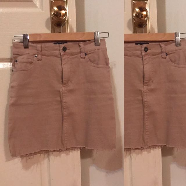Bardot Light brown tight skirt
