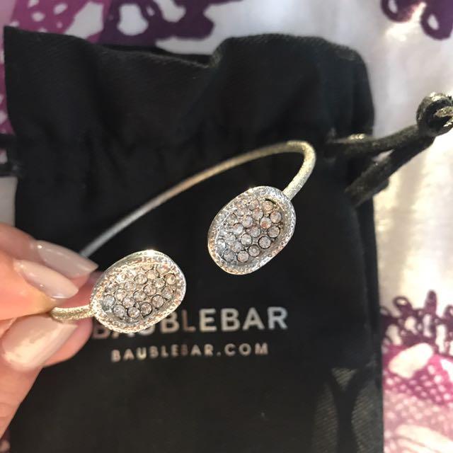 BaubleBar Silver Cuff