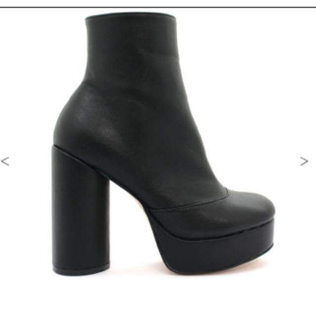 "Betts ""BUZZ"" Black Ankle Boots"