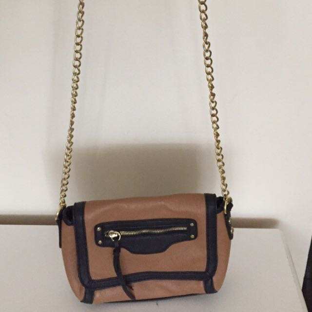 Black And Brown Also Purse