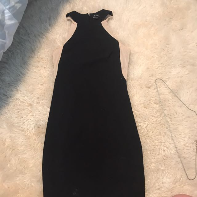 Black Bardot Dress