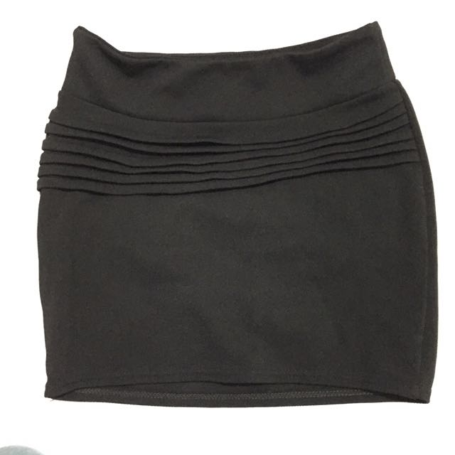 Black Skirt (Office Wear)