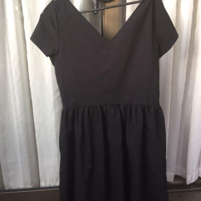 Black ZARA Dress (Large)