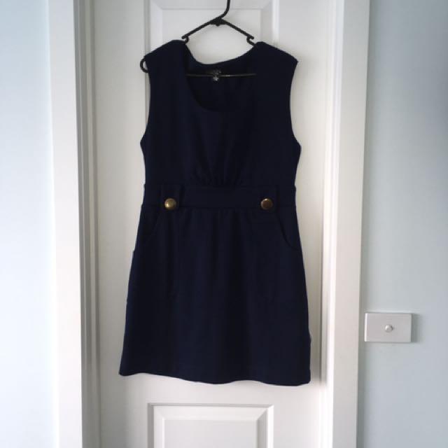 Blue Dress/ Office Workwear