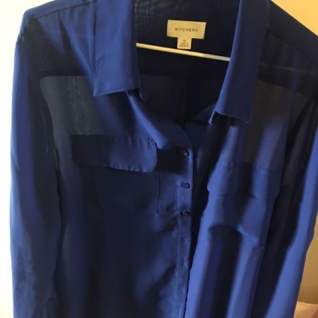 Blue Witchery Shirt
