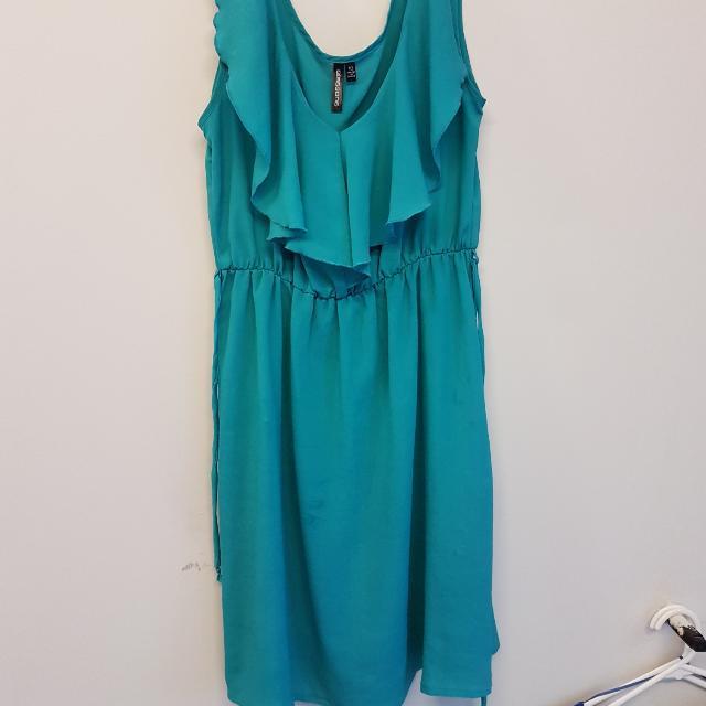 Blue/green Dress