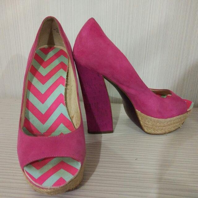 Boutique 9 Pink Shoes
