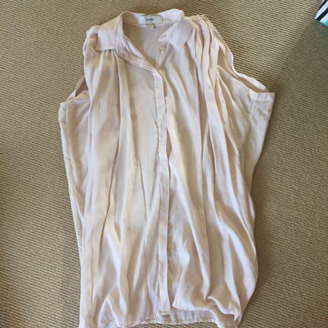 Cameo Nude Sleeveless Dress