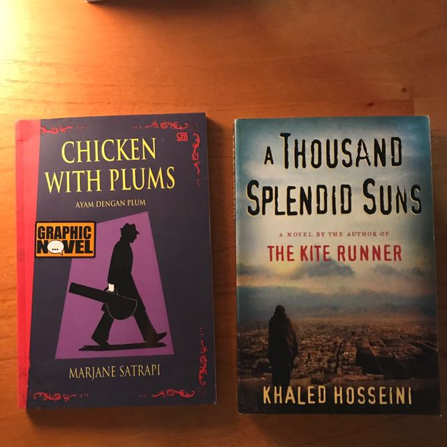 Chicken With Plums & A Thousand Splendid Suns
