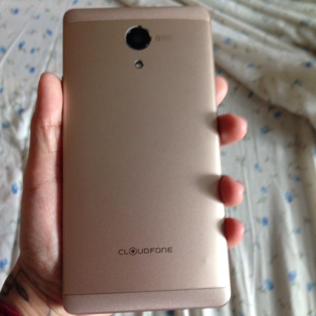 Cloudfone THRILL PLUS ( Gold )
