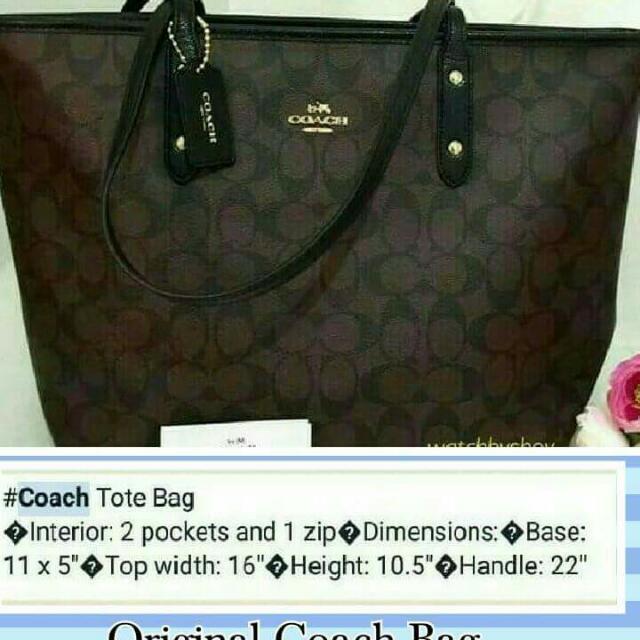 Coach Tote Bag ( Original )