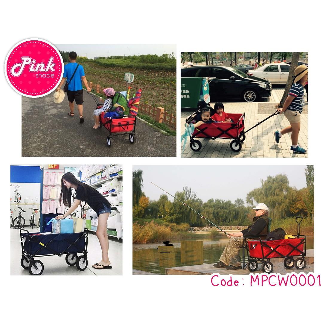 f3a10fd1638 Collapsible Baby Kids Push Cart   Multi Purpose Collapsible Wagon ...