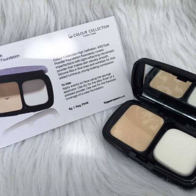 Colour Collection Dual Powder Foundation HD