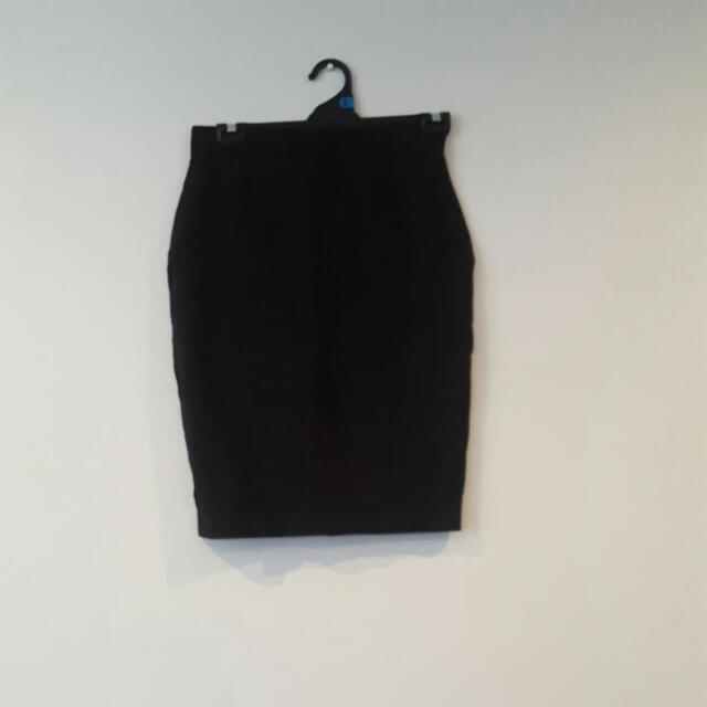 Cue Black Work Skirt REDUCED