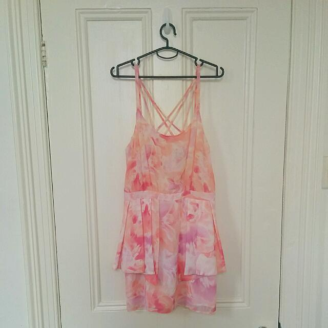 Cute Cross-Strap Dress