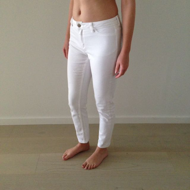 David Lawrence White Jeans