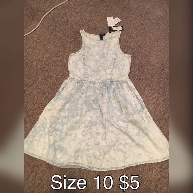 Denim Look Dress