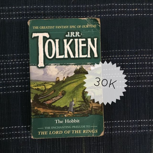 DISCOUNT - The Hobbit by JRR Tolkien
