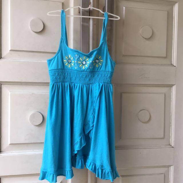 dress atasan kaos terusan pakaian