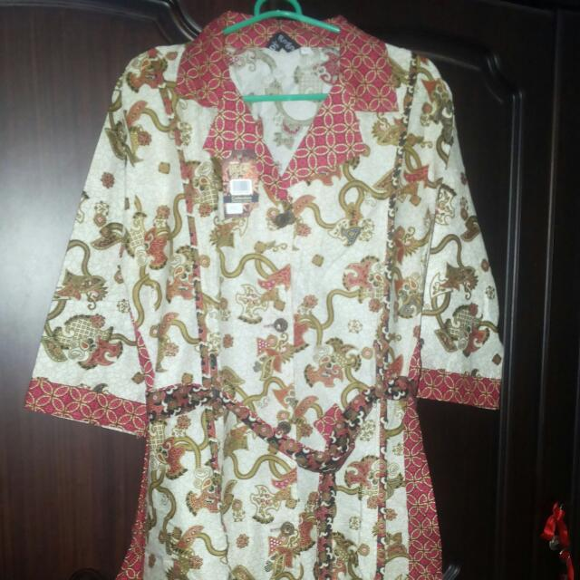 Dress Batik Bunga