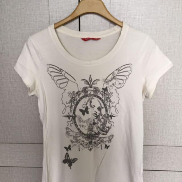 Edc White Tshirt
