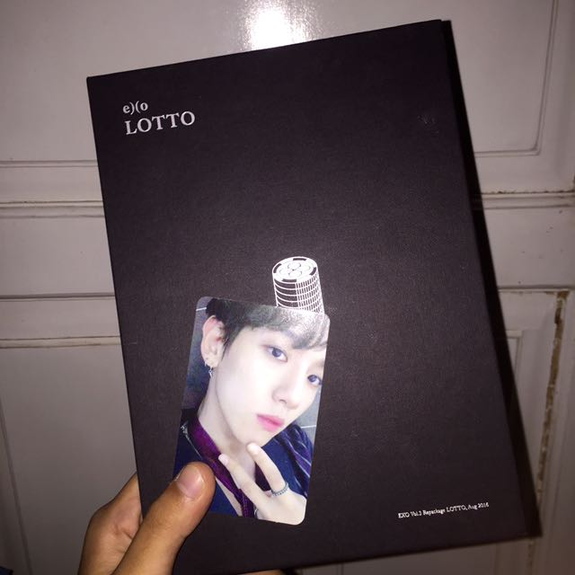 EXO Vol.3 REPACKAGE LOTTO ( CHINESE VER. ) #BARTER