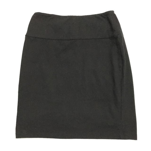 F21 Black Skirt (office wear)
