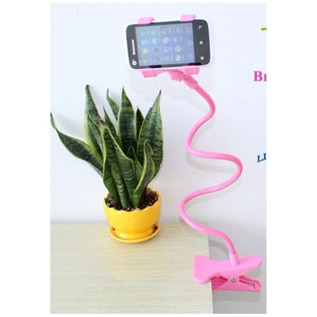 Flexible long arm phone/ipad/table holder