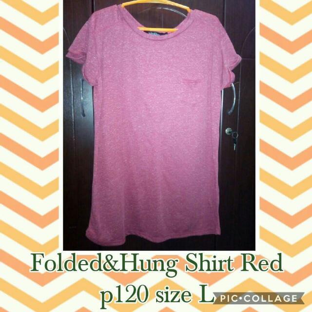 Folded & Hung Shirt